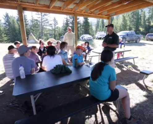 Youth bowhunting camp RAFD Raised Hunting