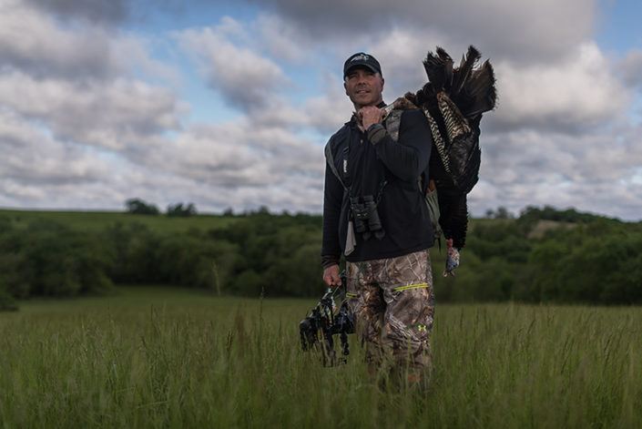 Turkey Hunting successful bow hunting under armour gear turkey feathers raised hunting david holder turkey flop