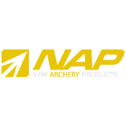 New-Archery-Products-NAP-Raised-Hunting-partner-logo