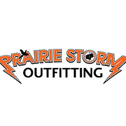 Prairie-Storm-Outfitting-Raised-Hunting-partner-logo